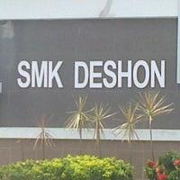 Photo taken at SMK DESHON by MSSHIRLEYYING on 6/29/2013