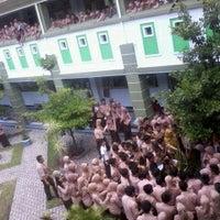 Photo taken at SMA Negeri 2 Lumajang by Isadora M. on 12/1/2012
