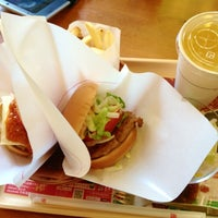 Photo taken at MOS Burger by Red P. on 5/25/2013