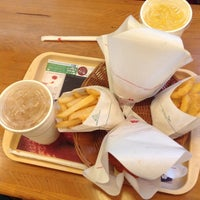 Photo taken at MOS Burger by Red P. on 5/11/2013