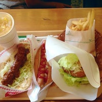 Photo taken at MOS Burger by Red P. on 7/13/2013