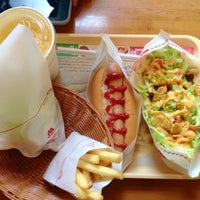 Photo taken at MOS Burger by Red P. on 7/6/2013