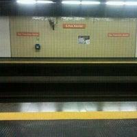 Photo taken at MetrôRio - Estação São Francisco Xavier by Elmer D. on 11/29/2012