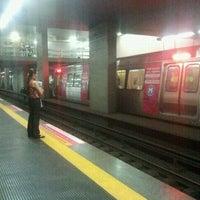 Photo taken at MetrôRio - Estação São Francisco Xavier by Elmer D. on 12/19/2012