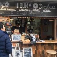 2/3/2018 tarihinde 薫 渡.ziyaretçi tarafından HIGUMA Doughnuts'de çekilen fotoğraf
