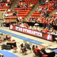 Photo taken at Jon M. Huntsman Center by Matthew J. on 2/10/2013