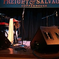 Photo taken at Freight & Salvage Coffeehouse by Matthew Z. on 3/7/2013