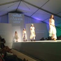 Photo taken at Omaha Fashion Week by Hannah P. on 8/22/2013