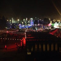 Photo taken at Queen Mary's Dark Harbor by Mary T. on 10/4/2013