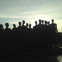 Photo taken at Скульптурная группа «Трагедия народов» by Marina K. on 6/11/2013