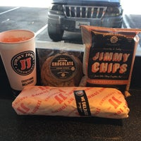 Photo taken at Jimmy John's by Sarah S. on 3/16/2016