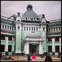Photo taken at Belorussky Rail Terminal by Kirill B. on 10/22/2013