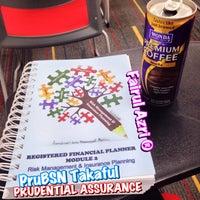 Photo taken at Prudential Assurance Malaysia Berhad, Damansara Intan by Fairulazri M. on 9/3/2015