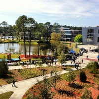 Photo taken at University of North Florida by John S. on 3/7/2013