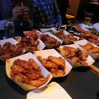 Photo taken at Buffalo Wild Wings by Abhirup D. on 1/9/2013