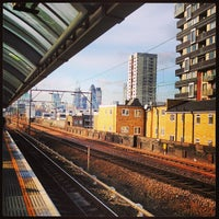 Photo taken at Shadwell DLR Station by David G. on 2/8/2013