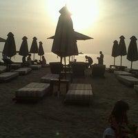 Photo taken at Balux Beach by Ioanna N. on 5/19/2013