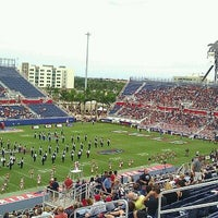 Photo taken at FAU Football Stadium by Jorge H. on 10/15/2011