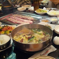 Photo taken at Seoul Garden Restaurant by Richard C. on 3/16/2013