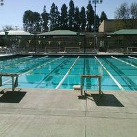 Photo taken at LAVC Aquatics Center by Briana M. on 2/13/2013