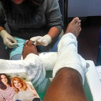 Photo taken at The Nail Lounge by David A. on 5/28/2014