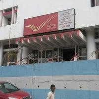 Photo taken at Basavanagudi Post Office by Sugandhi G. on 12/24/2013