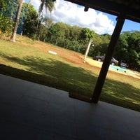 Photo taken at Chácaras Panorama by Gustavo D. on 3/16/2014