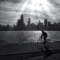 Photo taken at North Avenue Beach by Jason P. on 5/13/2013
