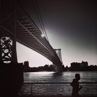 Photo taken at Williamsburg Bridge by Jason P. on 4/10/2013