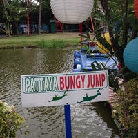 Photo taken at Pattaya Bungy Jump by Meta S. on 8/4/2014