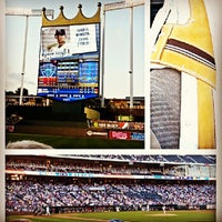 Photo taken at Kauffman Stadium by Michael Z. on 6/5/2013