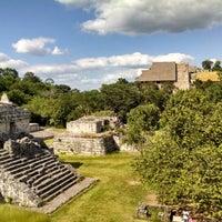 Foto tomada en Zona Arqueológica Ek Balam por Ekab M. el 10/26/2014