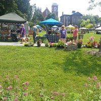 Photo taken at St. Albans Farmers Market by Timothy C. on 8/2/2014