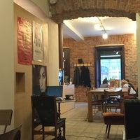Photo taken at Velodrome Espresso Bar by ozgur t. on 1/30/2016