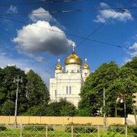 Photo taken at Воскресенский Новодевичий женский монастырь by Sergei Spasibo @. on 6/24/2013