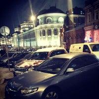 Photo taken at Bolshaya Dmitrovka Street by Sergei Spasibo @. on 1/10/2013