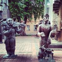 Снимок сделан в Московский музей современного искусства / Moscow Museum of Modern Art пользователем Sergei Spasibo @. 5/31/2013