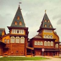 Photo taken at Wooden Palace of Tzar Alexis of Russia by Sergei Spasibo @. on 4/27/2013