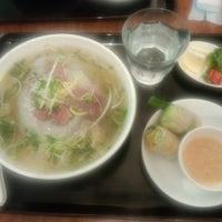 Photo taken at Little Hanoi 東神田店 by Yoshikatsu M. on 7/25/2013