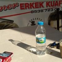Photo taken at Doğaner Erkek Kuaförü by Özgür P. on 12/7/2017