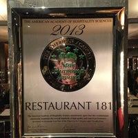 Das Foto wurde bei Restaurant 181 von Timofey T. am 5/29/2013 aufgenommen