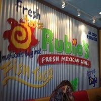 Photo taken at Rubio's by Eilrahc Z. on 10/4/2013