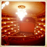 Photo taken at Teatro alla Scala by Anna IZYUM A. on 2/16/2013