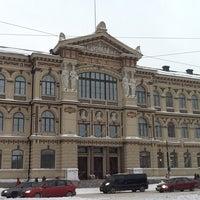 Photo taken at HSL Raitiolinja 9 by Екатерина К. on 2/1/2014