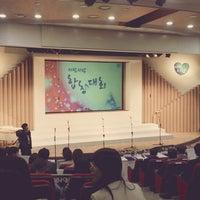 Photo taken at 삼성생명 휴먼센터 by Joonmo K. on 10/17/2013