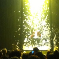 Photo taken at Daryl Roth Theatre (Fuerza Bruta Wayra) by Irina A. on 2/3/2013