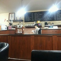 Photo taken at Ubean coffee house and roasterie by Ermuun B. on 3/2/2013