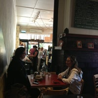 Photo taken at Balmains Cafe by Oscar M. on 12/19/2012