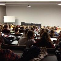 Photo taken at Arteveldehogeschool - Campus Kantienberg by Annelies L. on 10/4/2013