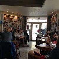 Photo taken at Goldmund Literaturcafe by J A. on 4/6/2013